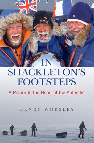 Cover image for the book In Shackleton's Footsteps: A Return to the Heart of the Antarctic, First Edition