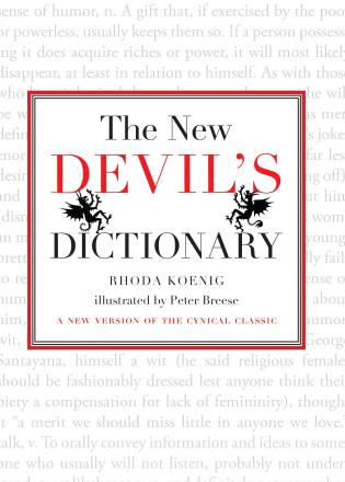 Cover image for the book New Devil's Dictionary: A New Version of the Cynical Classic