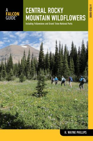 Cover image for the book Central Rocky Mountain Wildflowers: Including Yellowstone And Grand Teton National Parks, Second Edition