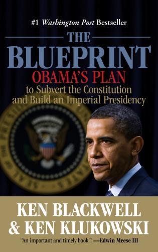 Cover image for the book Blueprint: Obama's Plan To Subvert The Constitution And Build An Imperial Presidency