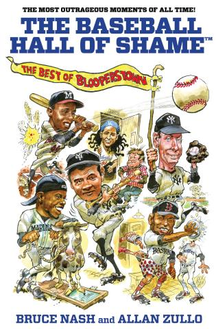 Cover image for the book Baseball Hall of Shame™: The Best Of Blooperstown