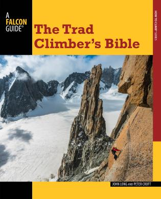 Cover image for the book Trad Climber's Bible, First Edition
