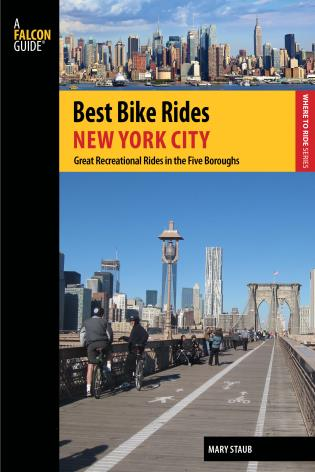 Cover image for the book Best Bike Rides New York City: Great Recreational Rides In The Five Boroughs, First Edition