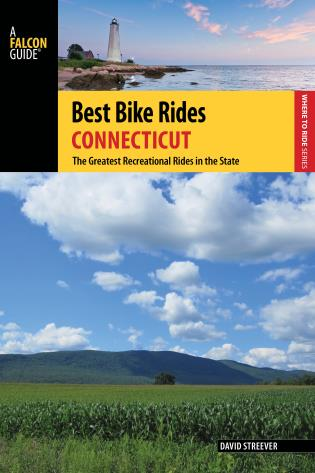 Cover image for the book Best Bike Rides Connecticut: The Greatest Recreational Rides in the State