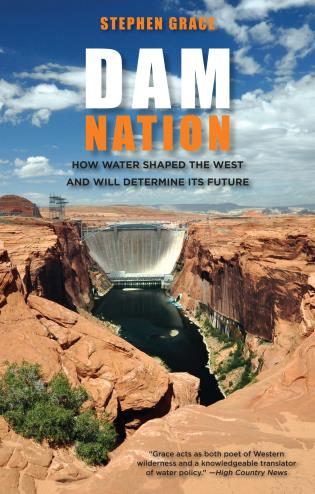 Cover image for the book Dam Nation: How Water Shaped The West And Will Determine Its Future, First Edition