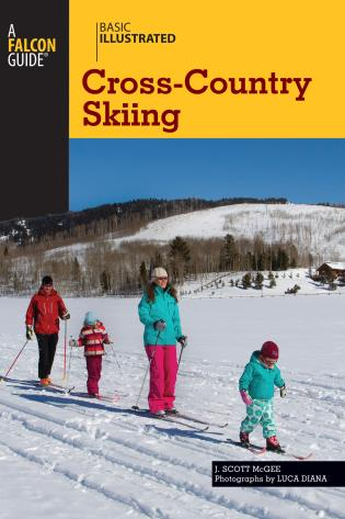 Cover image for the book Basic Illustrated Cross-Country Skiing