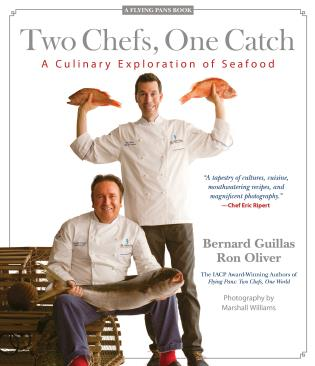 Cover image for the book Two Chefs, One Catch: A Culinary Exploration of Seafood, 1st Edition