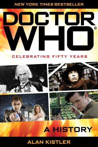 Cover image for the book Doctor Who: A History