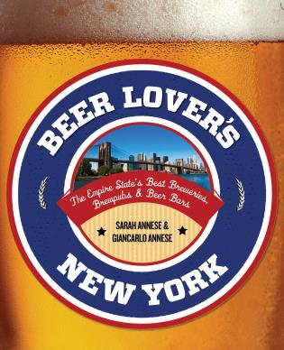 Cover image for the book Beer Lover's New York: The Empire State's Best Breweries, Brewpubs & Beer Bars, First Edition