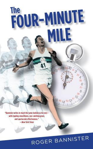 Cover image for the book Four-Minute Mile, Fiftieth Anniversary Edition