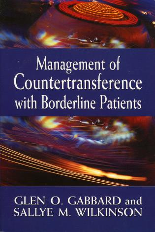Cover image for the book Management of Countertransference with Borderline Patients