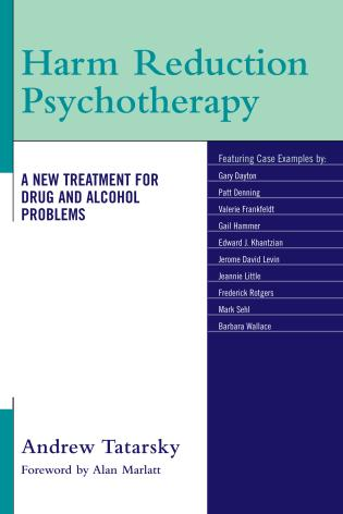 Cover image for the book Harm Reduction Psychotherapy: A New Treatment for Drug and Alcohol Problems
