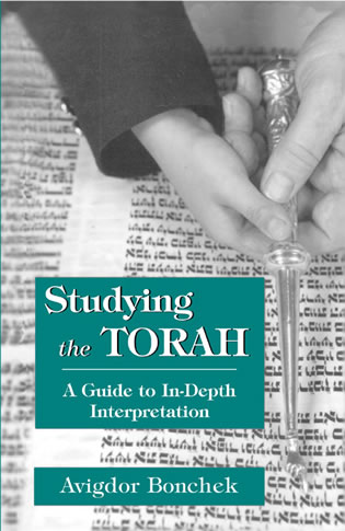 Cover image for the book Studying the Torah: A Guide to in-Depth Interpretation