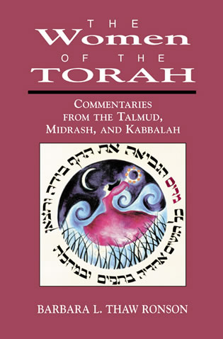Cover image for the book The Women of the Torah: Commentaries from the Talmud, Misrash, and Kabbalah