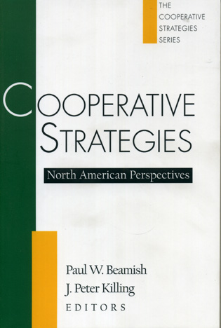 Cover image for the book Cooperative Strategies: North American Perspectives