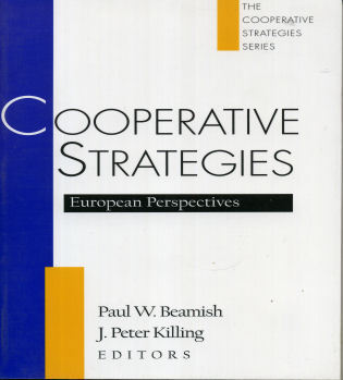 Cover image for the book Cooperative Strategies: European Perspectives