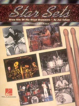 Cover image for the book Star Sets: Drum Kits of the Great Drummers