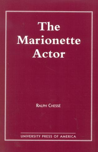 Cover image for the book The Marionette Actor