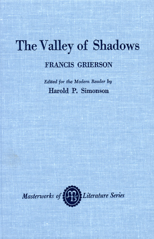 Cover image for the book The Valley of Shadows