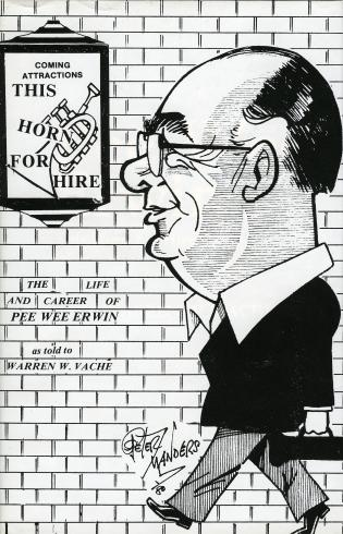 Cover image for the book This Horn for Hire: Pee Wee Erwin
