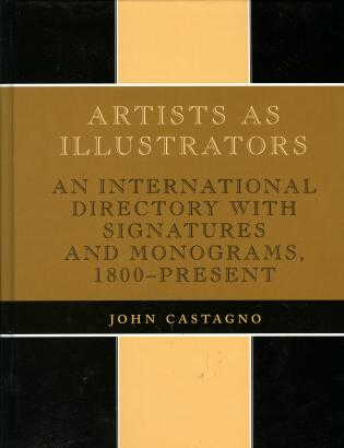 Cover image for the book Artists as Illustrators: An International Directory with Signatures and Monograms, 1800-Present