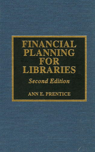 Cover image for the book Financial Planning for Libraries, Second Edition
