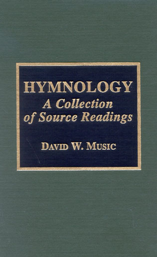 Cover image for the book Hymnology: A Collection of Source Readings