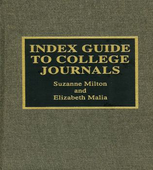 Cover image for the book Index Guide to College Journals