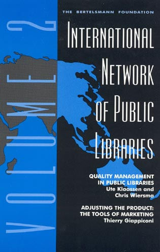 Cover image for the book International Network of Public Libraries: Quality Management in Public Libraries, Volume 2