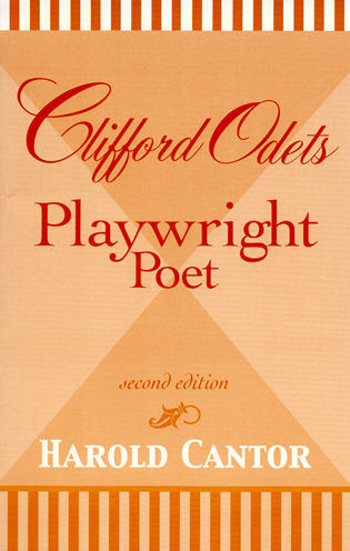 Cover image for the book Clifford Odets: Playwright-Poet