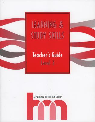 Cover image for the book Level II: Teacher's Guide: hm Learning & Study Skills Program, 3rd Edition