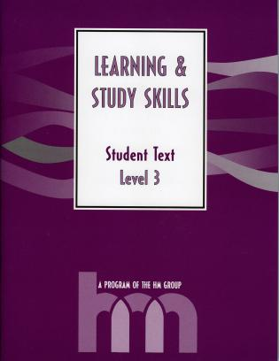 Cover image for the book Level III: Student Text: hm Learning & Study Skills Program