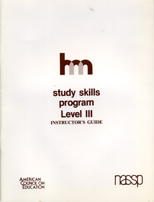 Cover image for the book Level III: Teacher's Guide: hm Learning & Study Skills Program
