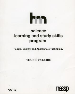 Cover image for the book Science: Teacher's Guide: People, Energy, and Appropriate Technology
