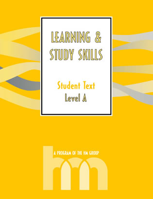 Cover image for the book Level A: Student Text: hm Learning & Study Skills Program