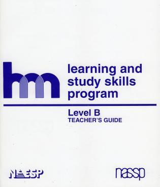 Cover image for the book Level B: Teacher's Guide: hm Learning & Study Skills Program