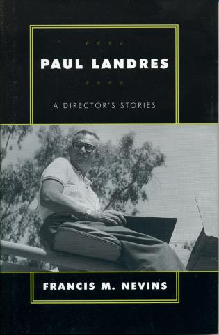 Cover image for the book Paul Landres: A Director's Stories