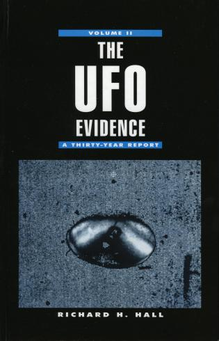 Cover image for the book The UFO Evidence: A Thirty-Year Report, Volume 2