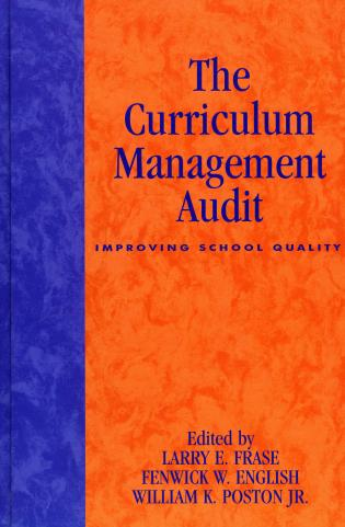 Cover image for the book The Curriculum Management Audit: Improving School Quality