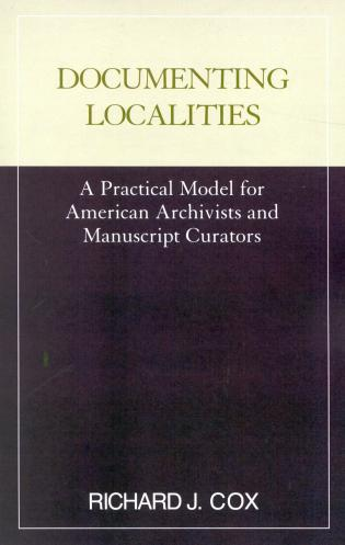Cover image for the book Documenting Localities