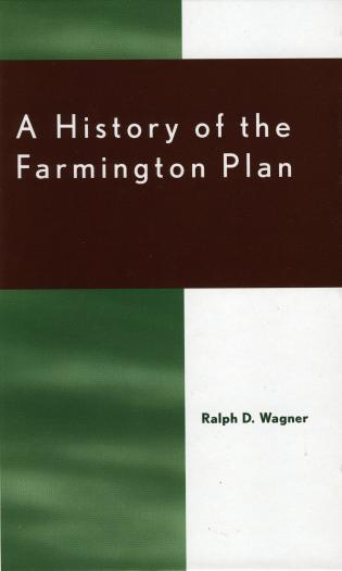 Cover image for the book A History of the Farmington Plan