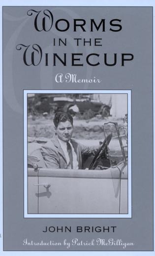 Cover image for the book Worms in the Winecup: A Memoir