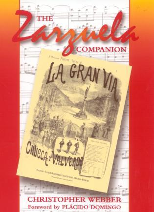 Cover image for the book The Zarzuela Companion