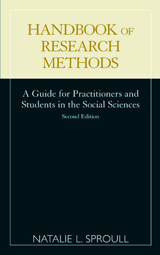 Cover image for the book Handbook of Research Methods: A Guide for Practitioners and Students in the Social Sciences, Second Edition