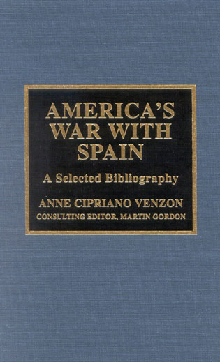 Cover image for the book America's War with Spain: A Selected Bibliography