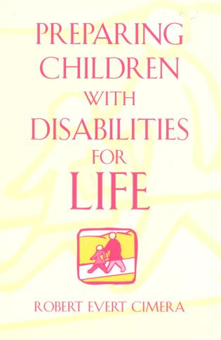 Cover image for the book Preparing Children With Disabilities for Life