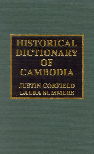 Cover image for the book Historical Dictionary of Cambodia