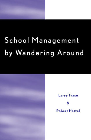 Cover image for the book School Management by Wandering Around