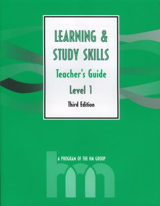 Cover image for the book Level I: Teacher's Guide: hm Learning & Study Skills Program, 3rd Edition