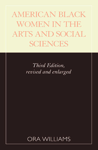 Cover image for the book American Black Women in the Arts and Social Sciences: A Bibliographic Survey